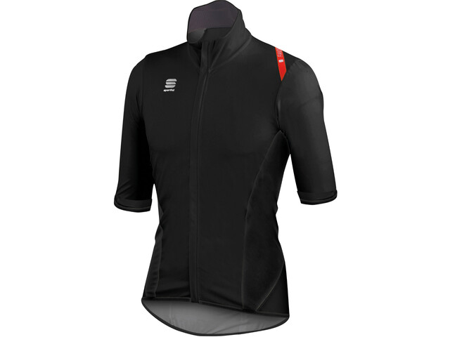 Sportful Fiandre Light NoRain Shortsleeve Jersey Herren black